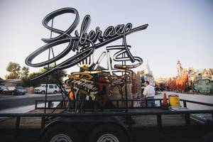 Restored Liberace Sign at Neon Museum