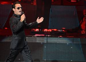 Marc Anthony and  Joey Vega at Axis