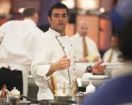 "Scott Commings competes in the Season 12 finale of ""Hell's Kitchen"" on Thursday, July 24, 2014, on Fox."