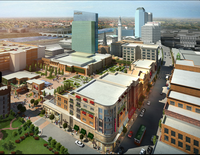 A rendering shows the $800 million MGM Springfield in Massachusetts.
