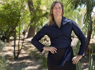 In12Days founder/CEO Suzanne Lea for The Sunday's Angel series at the Ethel M Chocolate Factory & Cactus Garden on Thursday, September 19, 2014.