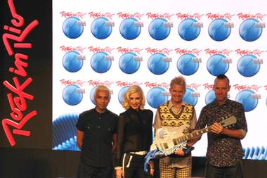 The big four: No Doubt, Metallica, Taylor Swift, Bruno Mars