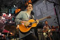 John Mayer performs at a Rock in Rio USA event in Times Square on Friday, Sept. 26, 2014, in New York.