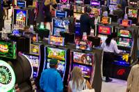 As always, the Global Gaming Expo featured a number of slot machines that will soon debut on casino floors. Much of the equipment that major gaming technology companies showed off skewed toward pop culture themes — and television shows in particular. Here are a few ...