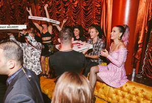 Katy Perry Parties at Surrender