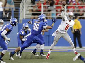 UNLV football at San Jose State 10-4-14