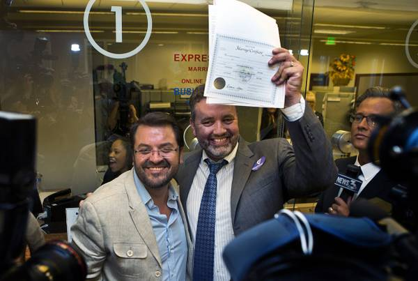 Same-sex marriage licenses in Clark County nearing 20,000 mark