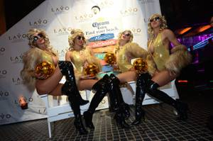 L.A. Clippers at Tao; Lavo Party Brunch Season 4