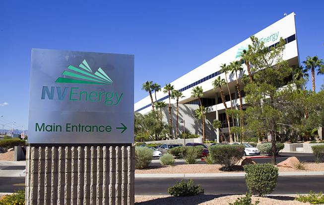 NV Energy Building Exterior