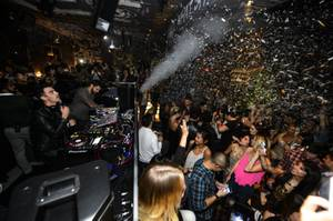Joe Jonas DJs at Foxtail