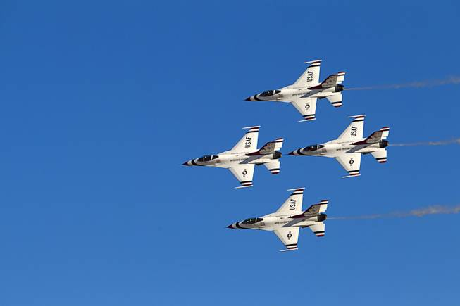 2014 Aviation Nation at Nellis AFB