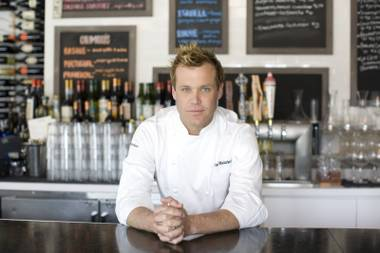 Chef Brian Malarkey at his restaurant Searsucker in the Gaslamp District in downtown San Diego.