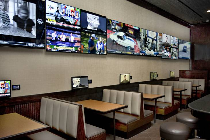 The Game, a restaurant which replaced T.G.I. Friday's at Suncoast, has more than 100 TVs, according to a news release.