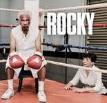 Eddie Shaw, 76, and Gloria Durling, 68, re-created Rocky and Adrian for a calendar that will benefit Keep Memory Alive.