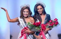 The 2015 Miss Nevada USA and Miss Teen Nevada USA pageants Sunday, Nov. 23, 2014, at UNLV. Brittany McGowan, right, was crowned Miss Nevada USA, and Geovanna Hilton won Miss Nevada Teen USA.
