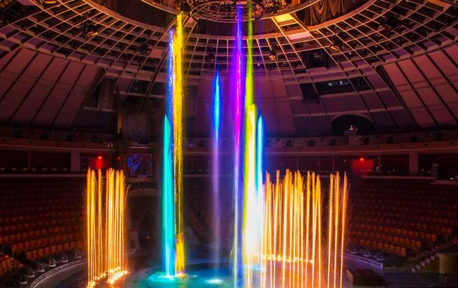 """Le Reve -- The Dream"" unveils its $3 million show element Friday, Nov. 21, 2014, in Wynn Theater."