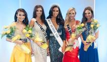 The 2015 Miss Nevada USA and Miss Teen Nevada USA pageants Sunday, Nov. 23, 2014, at UNLV. Brittany McGowan, center, was crowned Miss Nevada USA.