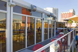 The Perch restaurant at Container Park