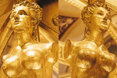 """They were trying to re-create Renaissance Venice, and I was giving them contemporary art."" --Toland Grinnell"