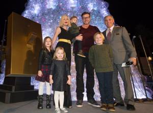 Tori Spelling, Dean McDermott, Human Nature at Venetian