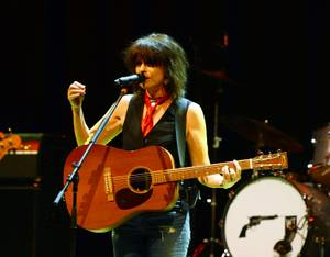 Chrissie Hynde at the Palms