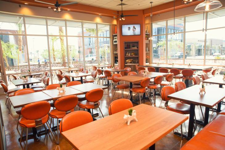 MTO Café at Downtown Summerlin opened Nov. 25.