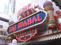 Donald Trump, domes and minarets are out. Rock 'n' roll and guitars — lots of guitars — are in as the Hard Rock chain re-does Atlantic City's former Trump Taj Mahal casino. The company owned by Florida's Seminole Indian tribe on Wednesday unveiled ...
