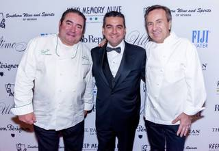 The 2014 Ultimo Grand Banquet hosted by star chefs Emeril Lagasse, Buddy Valastro and Daniel Boulud on Friday, Dec. 5, 2014, at the Venetian.