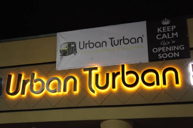 Urban Turban, a bombay kitchen and tapas bar with signature Indian cuisine, plans to open by the end of the month.