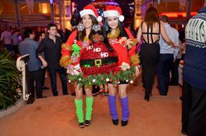 Ugly Holiday Sweater Contest at Surrender