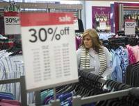 Despite an early start, sales data provided to The Associated Press shows that stores may once again have to rely on procrastinators to save the holiday shopping season. Sales were up 1.8 percent from Nov. 1 through Monday compared with the same period a year ago, according to data tracker First Data Corp., which declined to provide sales figures. The numbers are ...