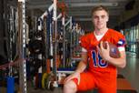 Bishop Gorman High School quarterback Tate Martell during an off-season workout Monday, Jan. 12, 2015, at the school.