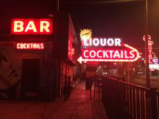 Atomic Liquors in downtown Las Vegas.