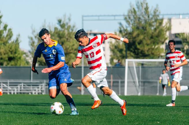 Being drafted into MLS might involve more than soccer talent for UNLV product Bernal