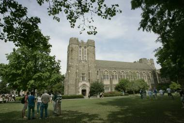Duke University canceled its plan to use a chapel tower for a weekly call to prayer for Muslims after getting bombarded with calls and emails from alumni and others, officials said Thursday. Instead, Muslims will gather ...