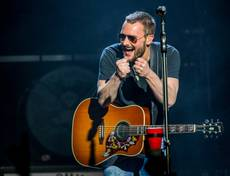 "Eric Church brings his ""The Outsiders World Tour"" to the Chelsea on Friday, Jan. 16, 2015, in the Cosmopolitan of Las Vegas. Church takes the stage Saturday, as well, in a second sold-out show."
