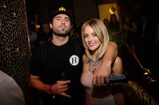 Brody Jenner and Kaitlynn Carter at Tao on Friday, Jan. 16, 2015, in the Venetian.