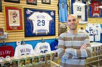 Marcel Bilak opened his sports memorabilia shop in 2007. In the years that followed, he watched long-standing businesses in his industry close across the country, but with perseverance, his store survived.