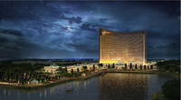 Wynn Resorts unveiled a new tower design for its planned Massachusetts casino on Thursday,  Jan. 22, 2015.