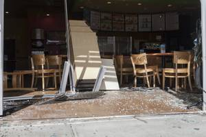Car Crashes Into Tropical Smoothie