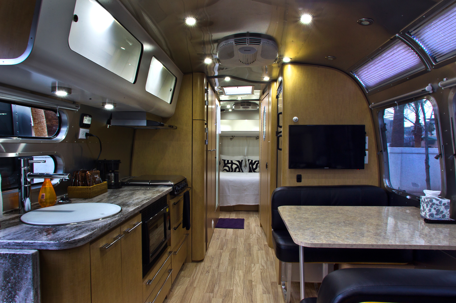 Living Small At Downtowns Airstream Park Home Is Where The Experiment