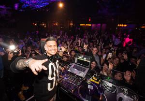 Super Bowl 49: DJ Pauly D at Vanity