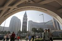 Casino revenue in the world gambling capital of Macau plunged by nearly half last month as fewer mainland Chinese high-rollers visited during the busy Lunar New Year holiday ...
