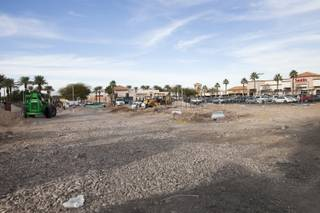 Construction continues on Smith's Fuel Center in Pebble Marketplace on Green Valley Parkway on Tuesday, Feb. 3, 2015, in Henderson.