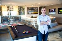Tyler Jones is founder and owner of Blue Heron, which developed Sky Terrace, a desert-themed luxury community of custom homes in Henderson. The homes are packed with electronics and offer over-the-top amenities, such as elevators, outdoor kitchens and entertainment rooms with 105-inch drop-down television screens. Jones launched Blue Heron in 2004 with his father, Steve Jones, who has been in the Southern Nevada real estate business since 1989 ...