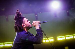 The Weeknd Performs at Drai's