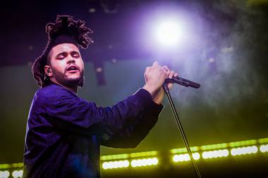 The Weeknd at Drai's Nightclub in February 2015
