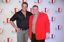 Chris McKenna, with The D Las Vegas owner Derek Stevens, hosts the Date-A-Thon on Saturday, Feb. 14, 2015, at Downtown Las Vegas Events Center.