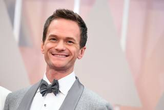 Host Neil Patrick Harris arrives at the Oscars on Sunday, Feb. 22, 2015, at the Dolby Theater in Los Angeles.