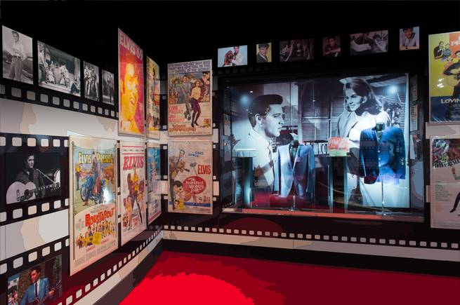 Plans for an Elvis attraction are revealed Thursday, Feb. 26, 2015, at Westgate Las Vegas.